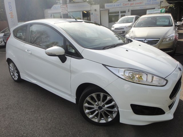 used Ford Fiesta ZETEC S TDCI in guildford-surrey