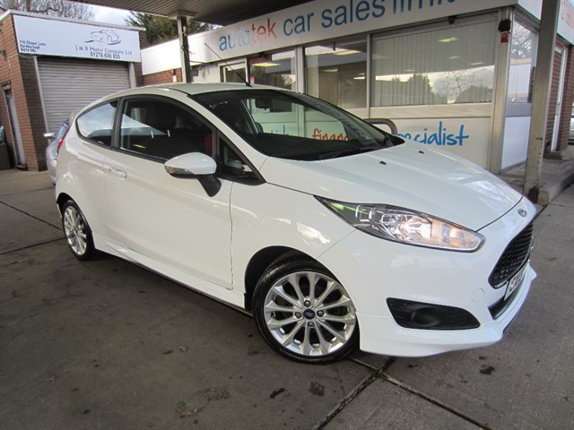 used Ford Fiesta ZETEC S TDCI in surrey