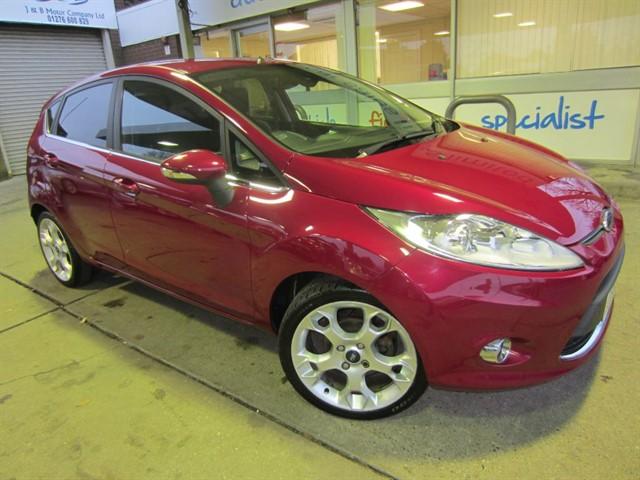 used Ford Fiesta TITANIUM in surrey