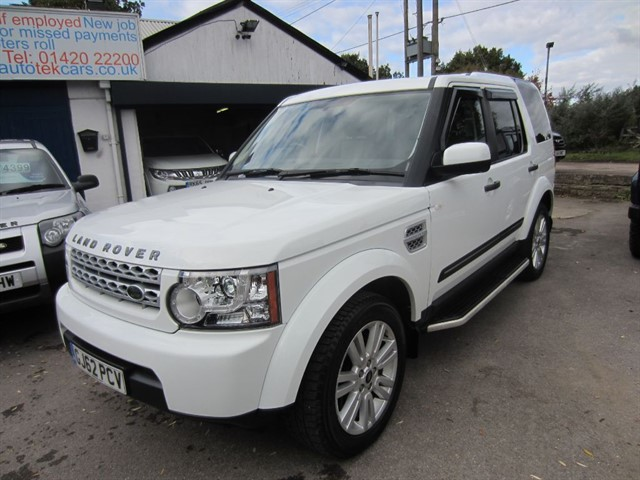 used Land Rover Discovery 4 SDV6 GS in surrey