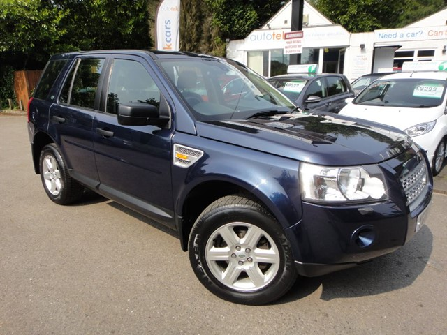 used Land Rover Freelander TD4 GS in surrey