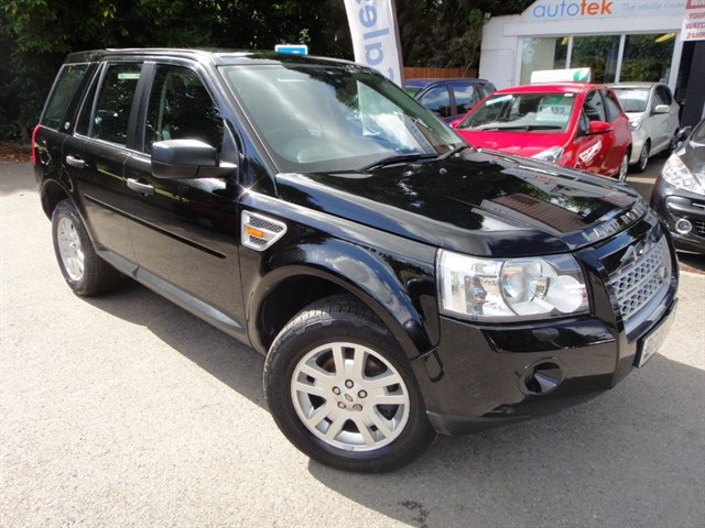 used Land Rover Freelander TD4 SE in surrey