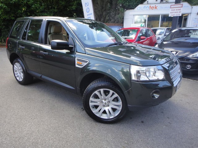used Land Rover Freelander TD4 HSE in surrey