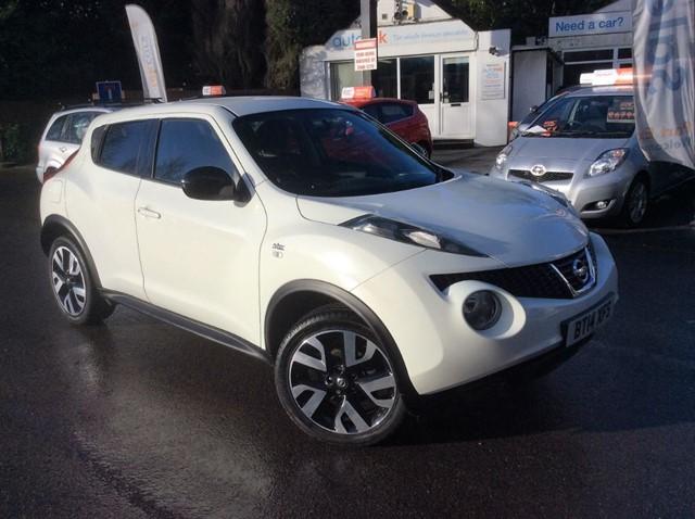 used Nissan Juke DCI N-TEC in surrey