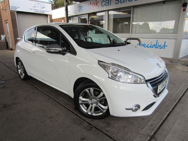 used Peugeot 208 ALLURE in surrey