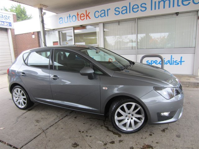used SEAT Ibiza TSI FR in surrey
