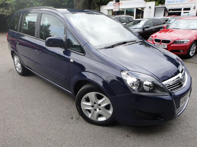 used Vauxhall Zafira EXCLUSIV in surrey