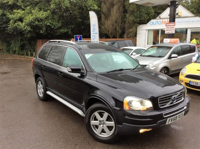 used Volvo XC90 D5 ACTIVE AWD in surrey