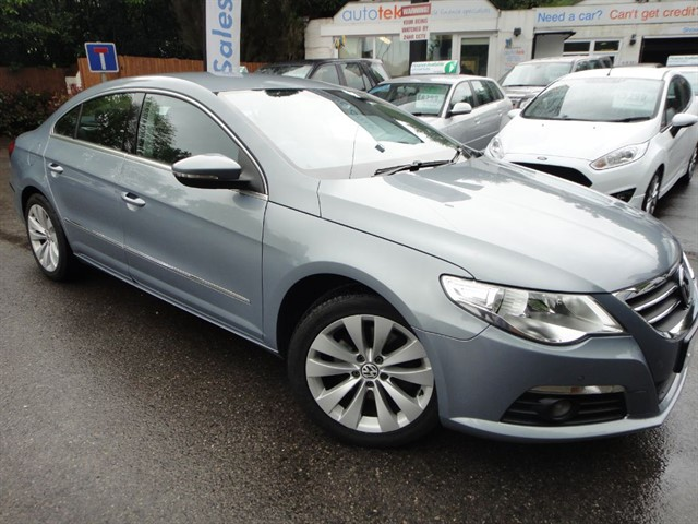 used VW Passat CC TDI DSG in guildford-surrey