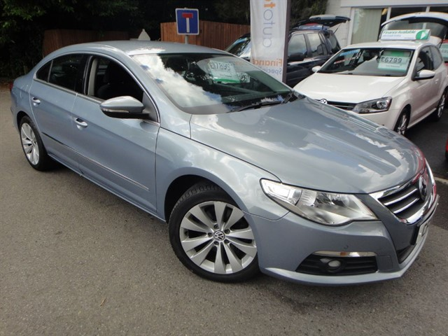 used VW Passat CC TDI DSG in surrey