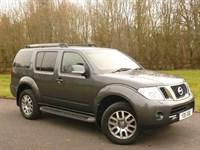 Used Nissan Pathfinder TEKNA DCI 190 £299 PER MONTH
