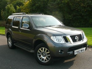 used Nissan Pathfinder DCI TEKNA £341 PER MONTH in swindon-wiltshire