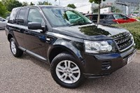 Used Land Rover Freelander TD4 Black and White 5dr