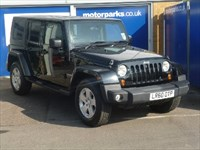 Used Jeep Wrangler CRD Sahara Unlimited 4dr A