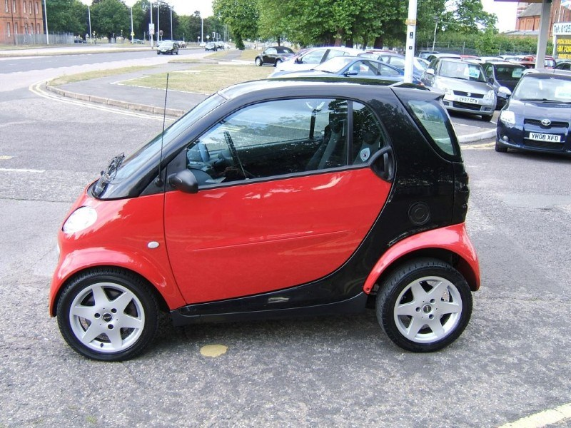 Small Car Windows : Used red black smart car for sale hampshire