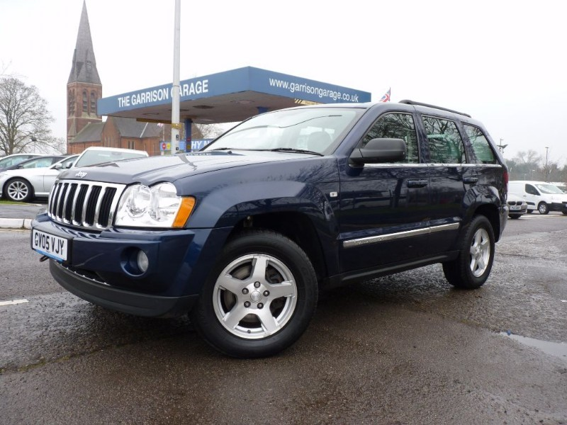 used jeep grand cherokee v6 crd limited in hampshire and surrey. Black Bedroom Furniture Sets. Home Design Ideas