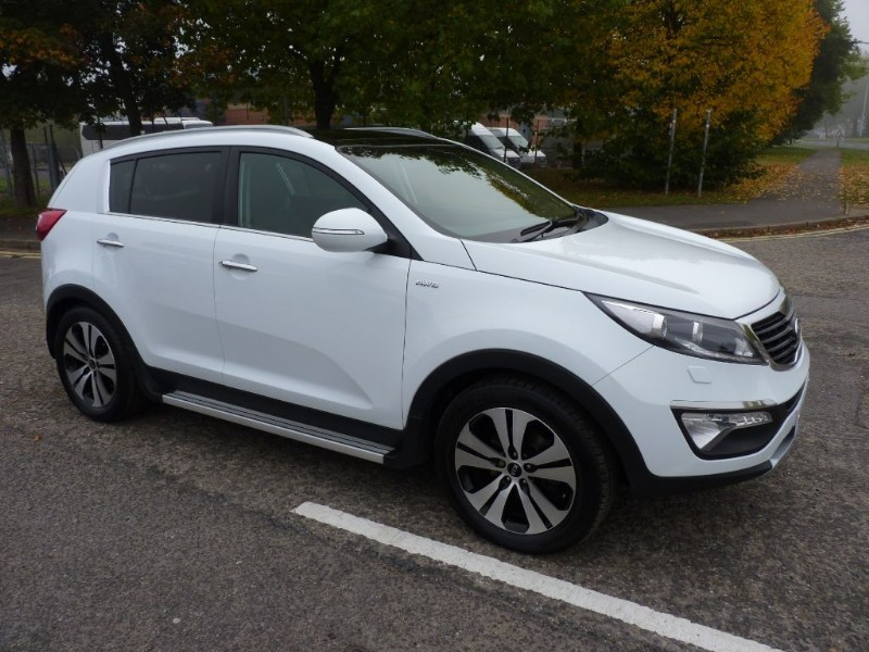 used white kia sportage for sale hampshire. Black Bedroom Furniture Sets. Home Design Ideas