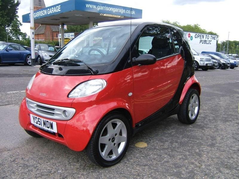 used red black smart car for sale hampshire. Black Bedroom Furniture Sets. Home Design Ideas