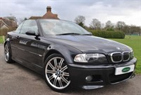"""Used BMW M3 SMG Convertible - 19"""" Alloys / Sat Nav"""