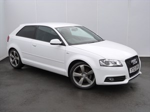 used Audi A3 TDI S LINE BLACK EDITION in swansea-south-wales