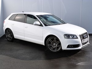 used Audi A3 SPORTBACK TDI S LINE BLACK EDITION in swansea-south-wales