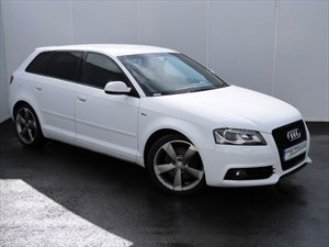 used Audi A3 SPORTBACK TDI 170 BLACK EDITION in swansea-south-wales