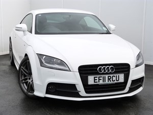 used Audi TT TDI QUATTRO BLACK EDITION S LINE in swansea-south-wales
