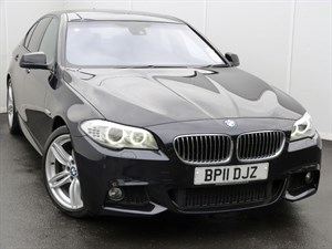 used BMW 520d M SPORT SUNROOF LEATHER SEATS in swansea-south-wales