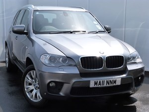 used BMW X5 XDRIVE30D M SPORT SAT NAV LEATHER SEATS in swansea-south-wales