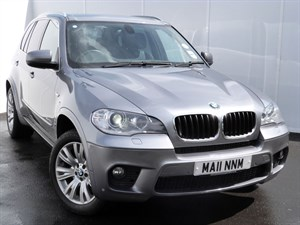 used BMW X5 XDRIVE30D M SPORT AUTO SAT NAV LEATHER SEATS in swansea-south-wales