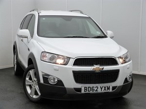 used Chevrolet Captiva LTZ VCDI SAT NAV LEATHER SEATS in swansea-south-wales
