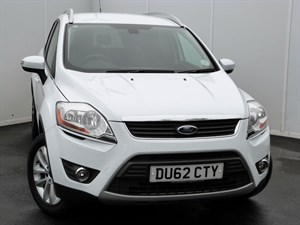 used Ford Kuga TITANIUM TDCI PART LEATHER SEATS in swansea-south-wales