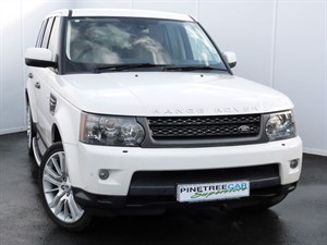 used Land Rover Range Rover Sport HSE TDV6 COMMAND SHIFT (MASSIVE SPEC) in swansea-south-wales