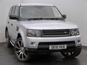 "used Land Rover Range Rover Sport TDV6 HSE SAT NAV 22"" ALLOYS in swansea-south-wales"