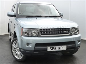 used Land Rover Range Rover Sport TDV6 HSE SAT NAV TV LEATHER SEATS in swansea-south-wales