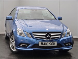 used Mercedes E350 CDI BLUEEFFICIENCY SPORT SAT NAV LEATHER SEATS in swansea-south-wales