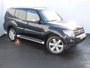 used Mitsubishi Shogun DI-D DIAMOND SATELLITE NAVIGATION in swansea-south-wales