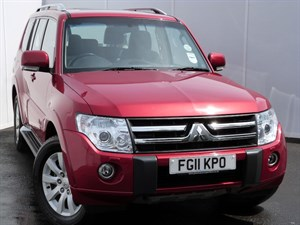 used Mitsubishi Shogun ELEGANCE DI-D LWB SAT NAV LEATHER SEATS PAN ROOF in swansea-south-wales