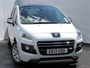used Peugeot 3008 e-HDI HYBRID4 ALLURE PAN ROOF SAT NAV in swansea-south-wales