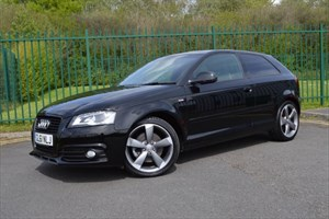 used Audi A3 2.0 TDI 170 QUATTRO S LINE SPECIAL EDITION 3dr * VERY RARE CAR * in Mid-Glamorgan