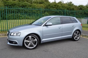 used Audi A3 SPORTBACK TDI S LINE BLACK EDITION ** SPECIAL EDITION + BIG SPEC ** in Mid-Glamorgan
