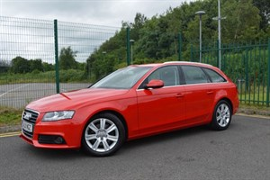used Audi A4 Avant 2.0 TDI SE TECHNIK * SAT-NAV+LEATHER+BIG SPEC * in Mid-Glamorgan