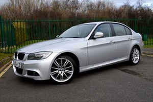 used BMW 318d PERFORMANCE EDITION * SAT-NAV+LEATHER+SPECIAL EDITION * in Mid-Glamorgan