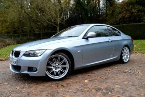 used BMW 320d M SPORT HIGHLINE COUPE * BIG SPEC+LEATHER+47,000 MILES * in Mid-Glamorgan