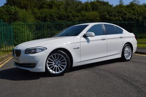 used BMW 520d SE * SAT-NAV+MANY EXTRAS+ 48,000 MILES * in Mid-Glamorgan