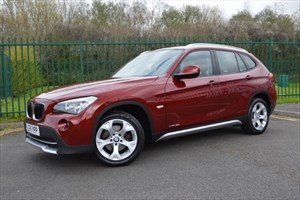 used BMW X1 XDRIVE18D SE * FACTORY EXTRAS+RARE 4X4 MODEL * in Mid-Glamorgan
