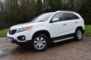 used Kia Sorento 2.2 CRDI KX-2 Auto * 7 SEATS+REAR DVD+29,000 MILES * in Mid-Glamorgan