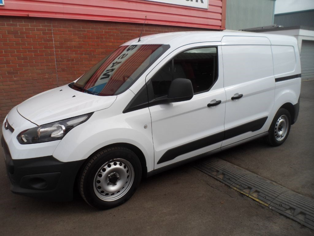 Used White 2013 Ford Transit Connect For 163 11 995 Vat