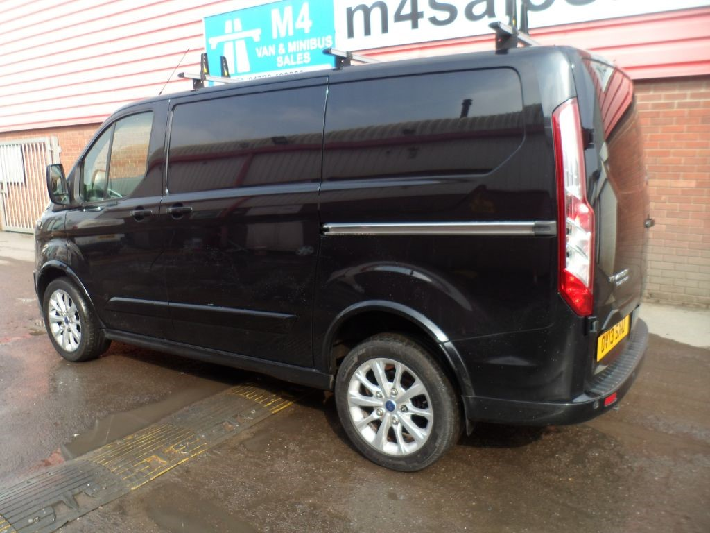 used black ford transit custom for sale wiltshire. Black Bedroom Furniture Sets. Home Design Ideas