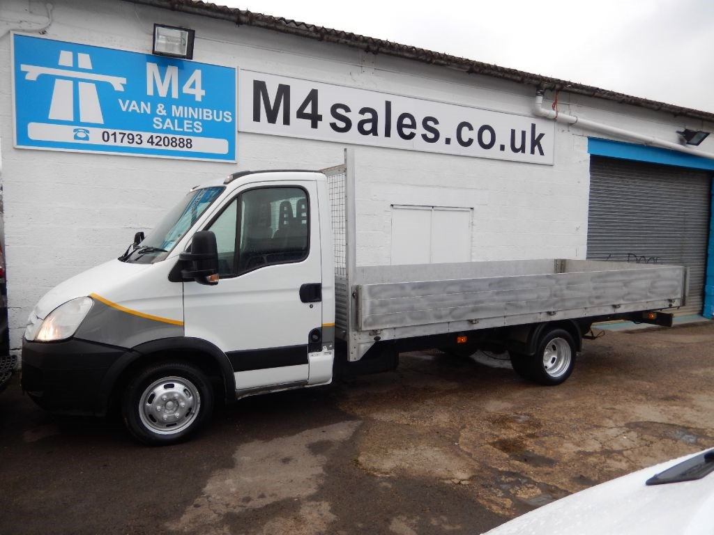 used white 2007 iveco daily for 11 995 vat wiltshire. Black Bedroom Furniture Sets. Home Design Ideas
